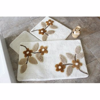 Set covorase baie Chilai Home by Alessia, 351ALS2093, Alb