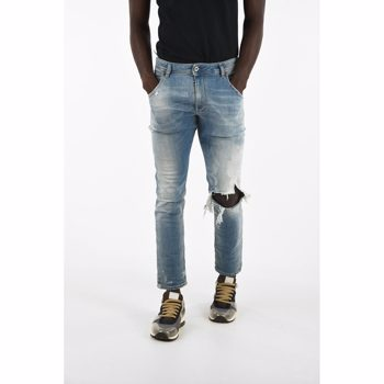 Diesel 18cm Vintage Effect KROOLEY-T Jogg Jeans Culoarea BLUE BM7902559