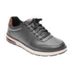 Pantofi sport SKECHERS negri, EVENSTON, din piele naturala
