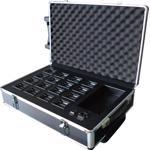 Packet baterii si charger pentru 16 microfoane wireless