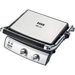 Grill electric Zass Grill & Panini Chef ZPG 02 2000 W Placi detasabile Inox ZPG 02
