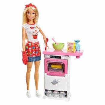 Papusa Barbie - Bakery Chef