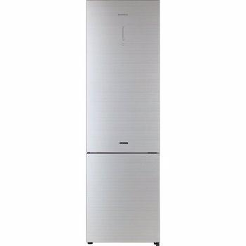 Combina frigorifica Daewoo RN-T536RGS, 362 l, Clasa A++, Full No Frost, Iluminare LED, H 200 cm, Argintiu