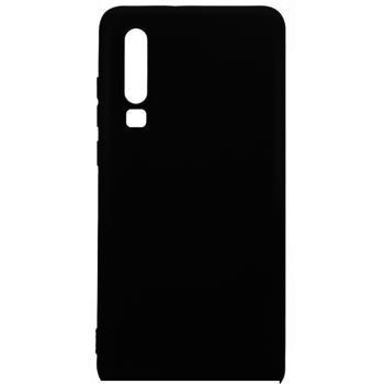 Protectie Spate Lemontti Silky LEMSLKP30N pentru Huawei P30 (Negru)
