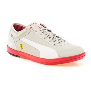 Pantofi sport PUMA pentru barbati DRIVING POWER LIGHT LOW SF (304134_01 ALB )