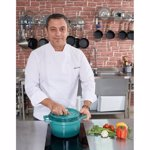 Semioala fonta emailata 24x13 cm 4.4L Taste of Home by Chef Sorin Bontea hr-yt-kan24