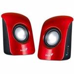 Boxe audio Genius SP-U115, rosii