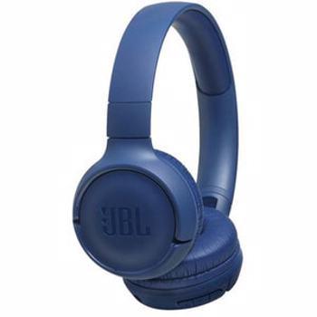 Casti audio On-Ear JBL Tune 500BT, Wireless, Bluetooth, Pure Bass Sound, Hands-free Call, 16H, Albastru