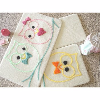 Set covorase baie Chilai Home by Alessia, 351ALS2038, Alb