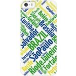-10% Muvit Husa Capac spate Orase din Brazilia Multicolor APPLE iPhone 5s, iPhone SE