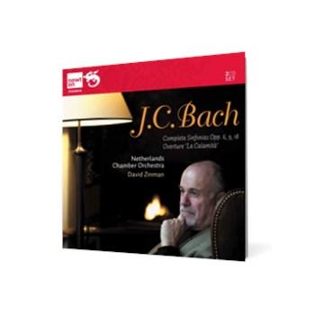 J.C. Bach - Symphonies Opp. 6, 9, 18