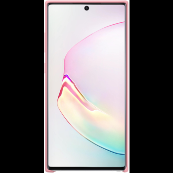 Protectie spate Samsung EF-PN975TPEGWW Silicon pentru Samsung Galaxy Note 10 Plus (Roz)