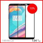 Husa Cover Plastic Karbon pentru OnePlus 7T Pro Negru 6921815608431