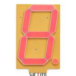 Afisaj de 6.5 cu 7 segmente - Rosu