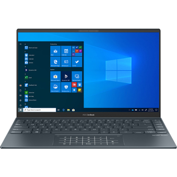 "Laptop ultraportabil ASUS ZenBook 14 UM425IA cu procesor AMD Ryzen™ 5 4500U pana la 4.00 GHz, 14"", Full HD, 16GB, 512GB SSD, AMD Radeon™ Graphics, Windows 10 Pro, Pine Grey"