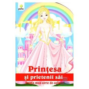 Printesa si prietenii sai - Prima mea carte de colorat 978-973-149-308-4