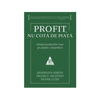 Profit, nu cota de piata - Hermann Simon
