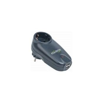 Priza cu protectie + 2 x USB Gembird Energenie SPG1-U