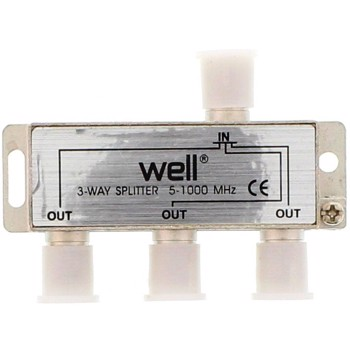 Spliter CATV 3 cai 1000 Mhz Well