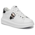 Sneakers KARL LAGERFELD - KL62530 White Lthr