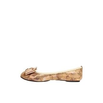 Pantofi tip balerini de lux din piele Buckingham de la Cocorose London