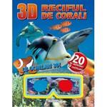 3D Reciful de corali. Cu ochelari 3D, editura Girasol