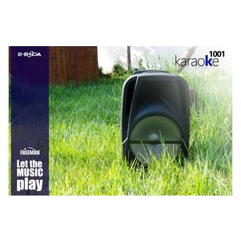 Boxa Portabila Freeman Karaoke 1001 + Microfon,Telecomanda Bluetooth USB SD Negru (14 voturi ) 5 stele (13 voturi) 92.8571428571% Complet 4 stele (1 voturi) 7.14285714286% Complet