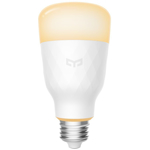 Bec Yeelight LED Smart Bulb 1S Dimmable YLDP15YL, 8.5 W, E27, Control vocal si prin aplicatie, Timer (Alb)