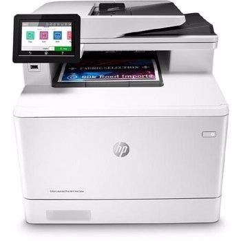 Multifunctionala HP LaserJet Pro MFP M479dw Retea Wi-Fi A4 Alb