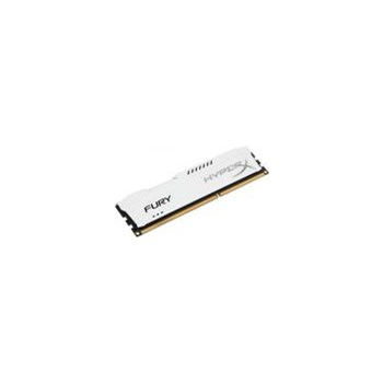 Memorie HyperX FURY White 4GB, DDR3, 1333MHz, CL9, 1.5V