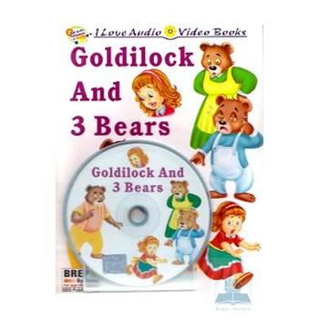 Goldilock And 3 Bears + Cd