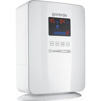 Umidificator de aer Gorenje H50DW, 5 litri, Digital, Smart Control, Ultra Sonic, Abur Rece, Alb