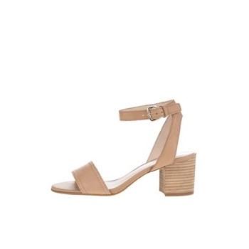 Sandale maro ALDO Lolla cu toc solid