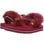 UGG Kids Yia Yia II (Infant/Toddler) Culoarea Matador Red Sheepskin