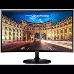 "Monitor Curbat Gaming LED VA Samsung 24"",1800R, Full HD, FreeSync, Flicker Free, HDMI, Slim, Negru, LC24F390FH"