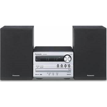 Microsistem audio Panasonic SC-PM250ECS, 20W, USB, Bluetooth, Argintiu