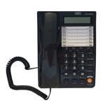 Telefon fix Oho 092, 16 cifre, afisaj LCD, ceas, functie Hold, Negru