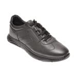 Pantofi OTTER negri, 37109, din piele naturala