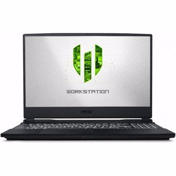 Laptop MSI WE65 15.6 inch FHD Intel Core i7-9750H 16GB DDR4 512GB SSD nVidia Quadro T1000 4GB Black