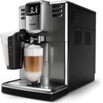 Espressor automat Philips Seria 5000 EP5334/10, sistem de llapte LatteGo, 6 bauturi, filtru AquaClean, rasnita ceramica, optiune cafea macinata, functie Memo, Gri antracit