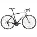 Bicicletă Şosea Triban 520 Negru/Alb B'TWIN