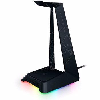Stand casti cu hub USB Razer Chroma RC21-01190100-R3M1