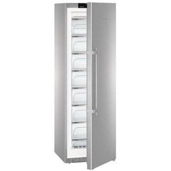 Congelator Liebherr GNPes 4355, 270 l, NoFrost, Touch control, Clasa A+++, H 185 cm, Inox