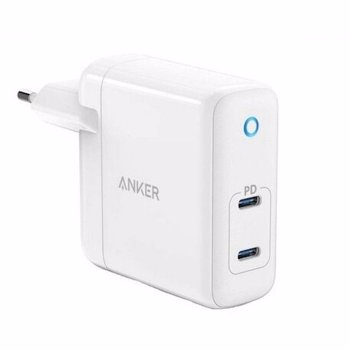 Incarcator priza Anker PowerPort Atom PD 2 60W USB-C Alb A2029321