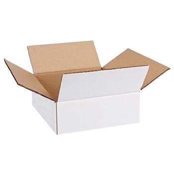 Cutie carton 240x205x75, alb, 3 straturi CO3, 435 g/mp