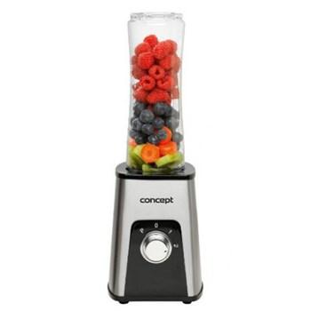 Mini Blender Concept Smoothie to Go SM-3370 300 W Smoothie 2 recipiente Gri sm3370