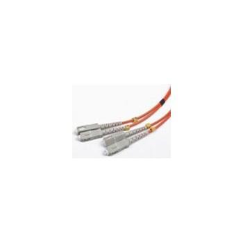 Cablu Fibra Optica Multimodal Gembird SC-SC Duplex 50/125 1m Portocaliu cfo-scsc-om2-1m