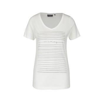 Tricou alb cu imprimeu Broadway Betty
