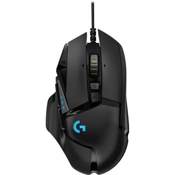 Logitech G502 Hero mouse-uri USB Tip-A Optice 16000 DPI Mâna dreaptă