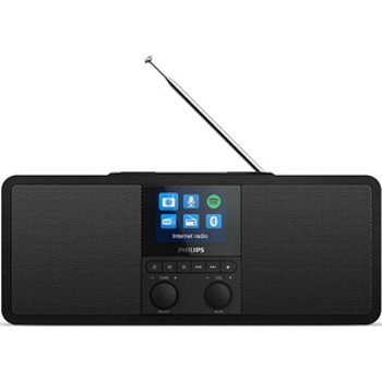 Radio Philips TAR8805/10 FM DAB+ Bluetooth 6W incarcare wireless Qi Spotify Connect Negru tar8805/10
